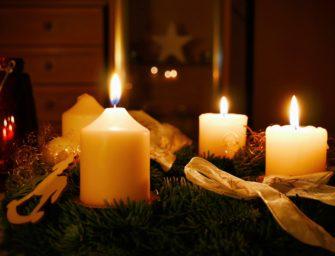 Vánoční tradice – adventní věnec