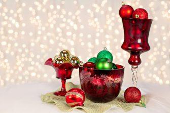 Advent a Vánoce v červené a bílé