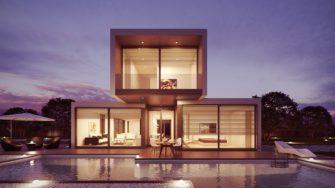 Plochá střecha se hodí i pro pasivní dům