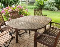 Správná péče o zahradní nábytek
