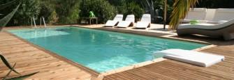 Luxusní bazén za dva týdny