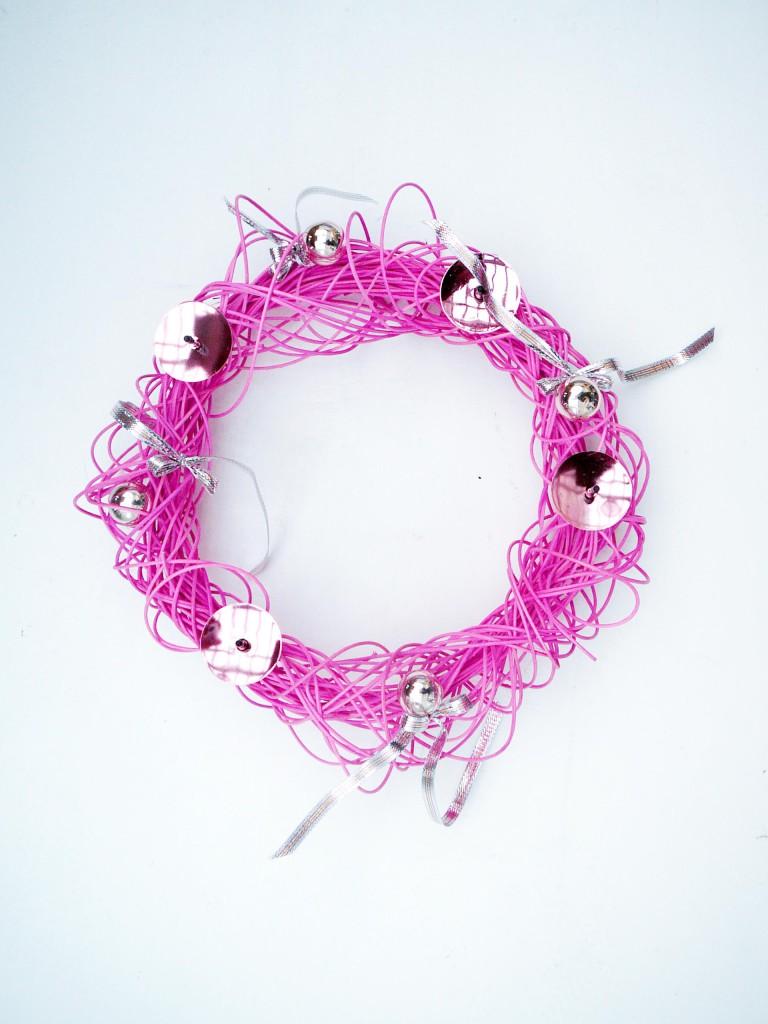 Hitem letošního adventu jsou růžové a tyrkysové barvy.