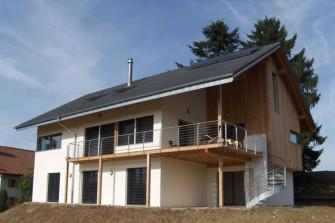 Montovaná dřevostavba z masivu