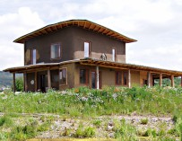 Ekologická alternativa: slaměné stavitelství