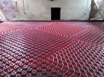 Podlahové topení pro šetrné stavby