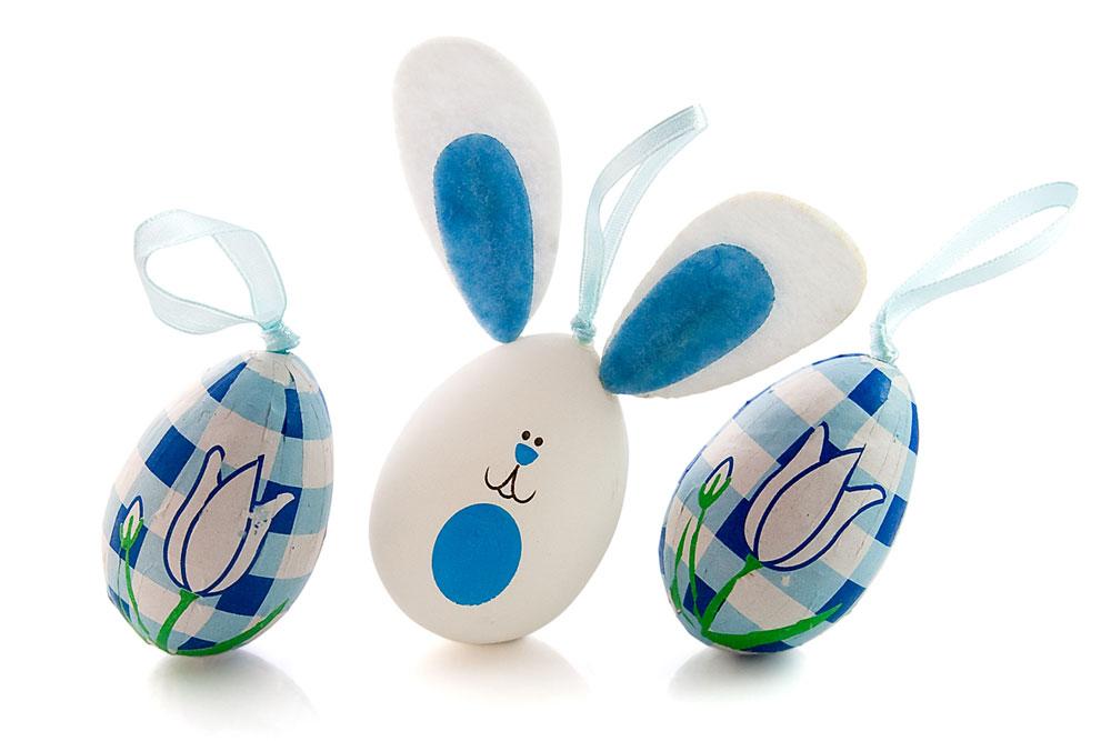 Velikonoční vajíčka coby zvířátka - jejich výroba potěší hlavně děti. (2)