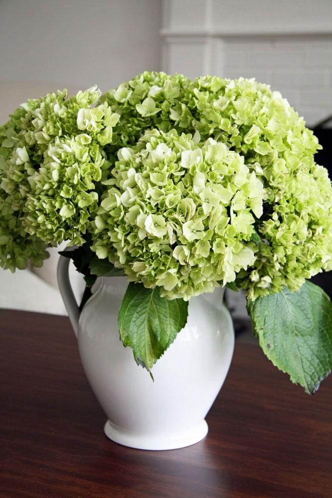 Úžasně působí aranžmá z živých i sušených květů.