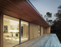 Moderní dřevěné fasády