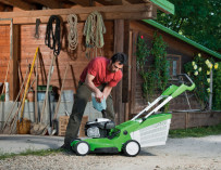 Jak připravit zahradní stroje na zimu?
