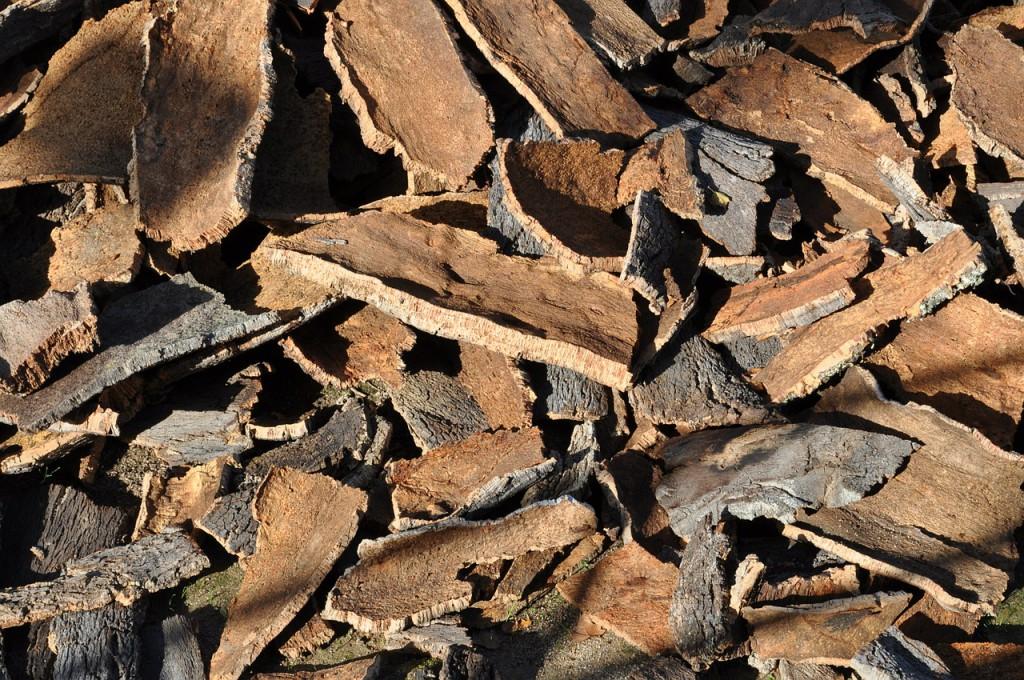 Korek je přírodní materiál, který se získává z korkového dubu.