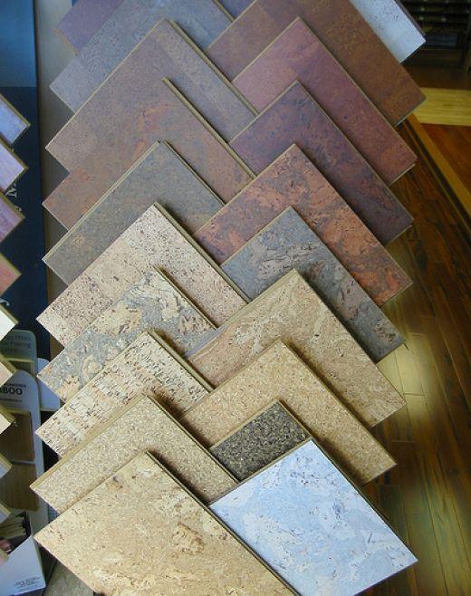 Nejčastěji má korková podlaha podobu čtverců, které se lepí na podklad.