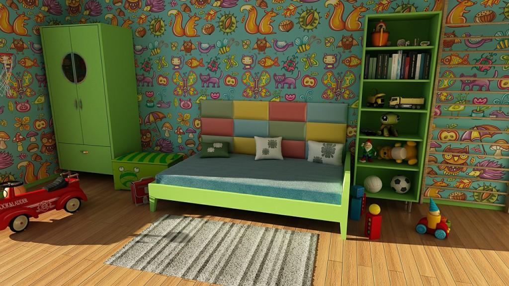 Nábytek zvolte raději nadčasový - věku dítěte přizpůsobte spíše výmalbu a vhodně zvolené doplňky.