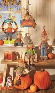 Výzdoba v podobě skřítků podzimníčků potěší zejména děti. V prodejnách KIK jsou k dostání od 219 korun.