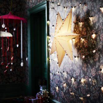 Vánoční LED osvětlení do interiéru