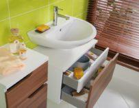 Správná péče o koupelnový nábytek