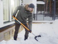 Odklízení sněhu pro zábavu