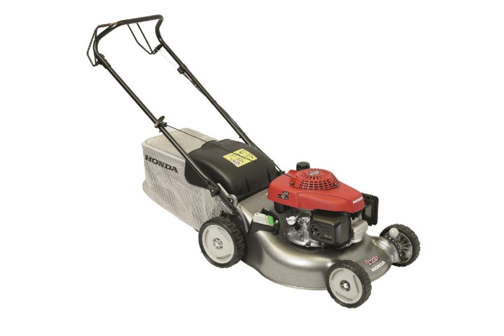 Honda HRG 466 SKEP je skvělý pomocník při sekání, sběru, nebo mulčování trávy.