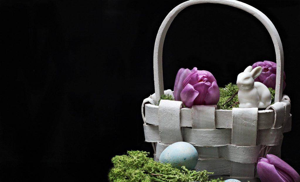 K Provence patří fialová - levandulová barva. Zohledněte ji i při tvoření velikonočních dekorací.