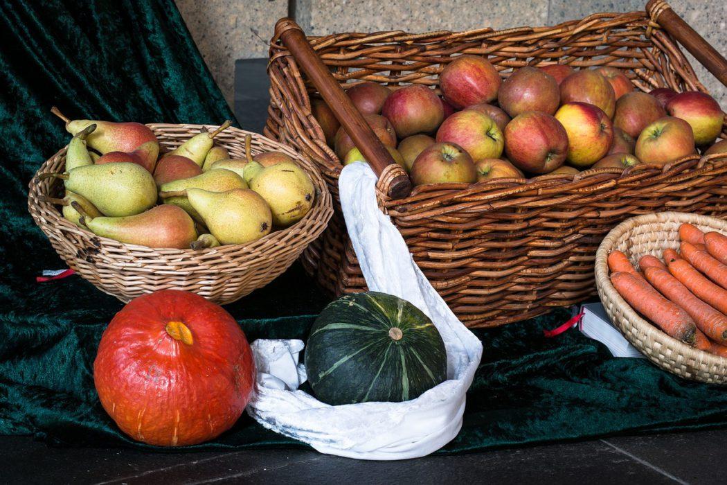 sklizeň ovoce a zeleniny