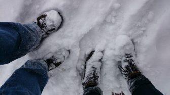 Domácí sněhová fréza