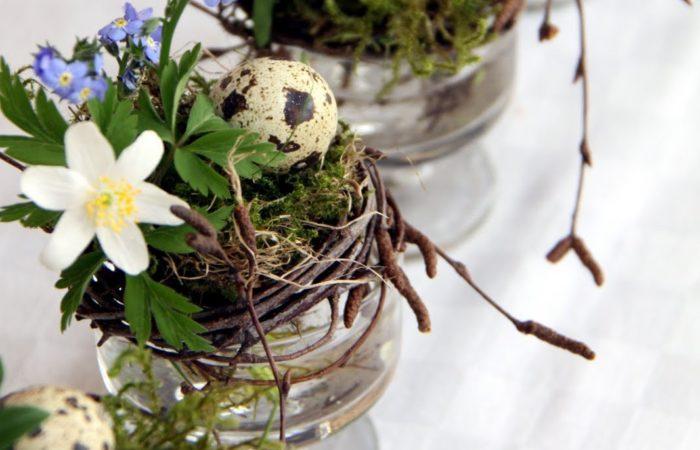 Velikonoční dekorace z břízy