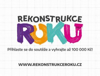 Startuje nová celonárodní soutěž o nejzdařilejší rekonstrukci REKONSTRUKCE ROKU
