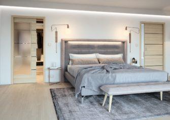 Dveře pro minimalistický interiér