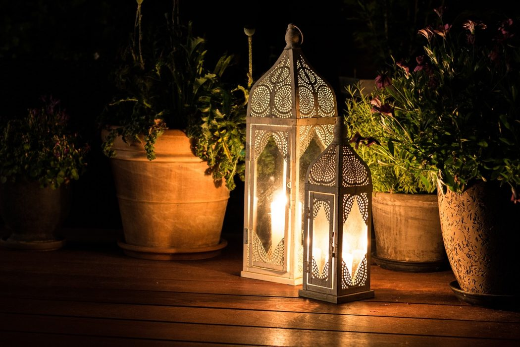 podzimní romantika lucerna