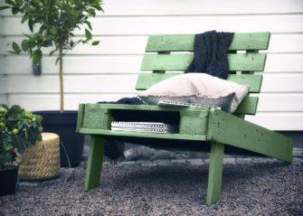 Péče o venkovní nábytek z palet