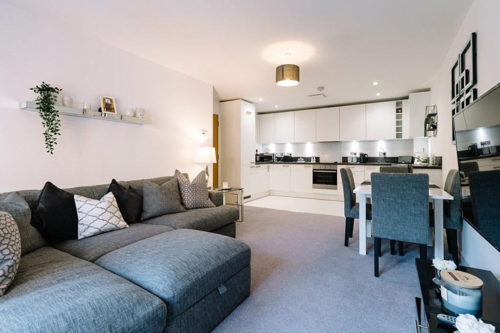 minimalistický moderní interiér